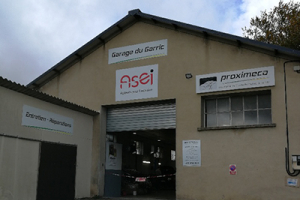 Photo du garage à ANGLES : ASEI - Garage du Garric